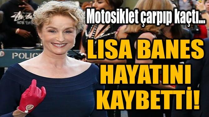 LISA BANES  HAYATINI  KAYBETTİ!