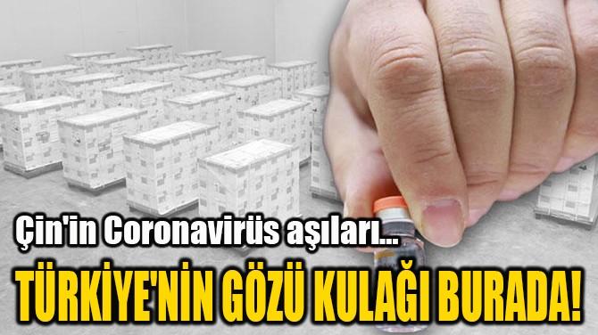 TÜRKİYE'NİN GÖZÜ KULAĞI BURADA!