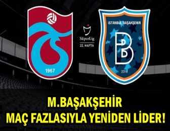 M. BAŞAKŞEHİR TRABZON'DA 3 PUANI KAPTI!