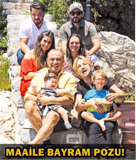 TERİM AİLESİNDEN BAYRAM SELFIESİ!..
