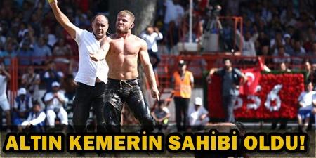 KIRKPINAR'DA BAŞPEHLİVAN İSMAİL BALABAN OLDU!