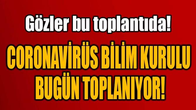 CORONAVİRÜS BİLİM KURULU  BUGÜN TOPLANIYOR!
