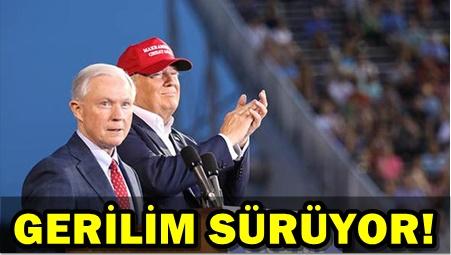 TRUMP, BU KEZ ADALET BAKANI'NA YÜKLENDİ!