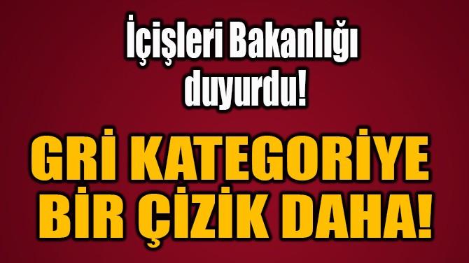 GRİ KATEGORİYE  BİR ÇİZİK DAHA!