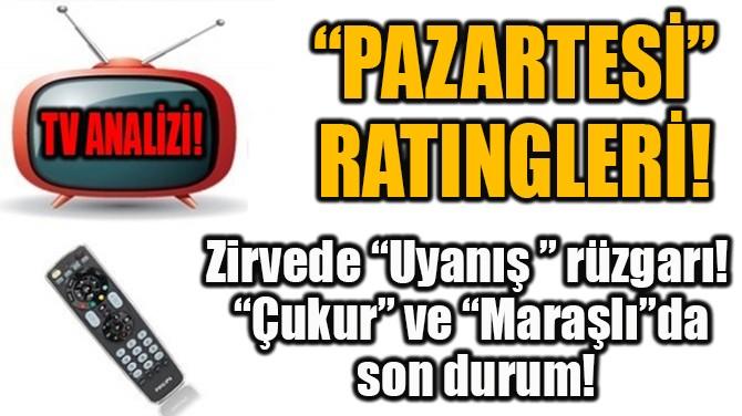 """PAZARTESİ""  RATINGLERİ!"