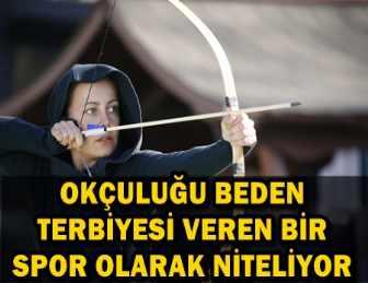 VİLDAN ATASEVER'İN OK VE YAY AŞKI!.. ATA SPORUNA TAM DESTEK
