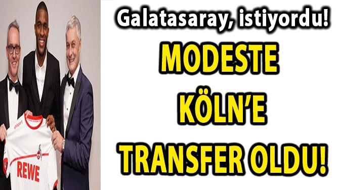 GALATASARAY'IN İSTEDİĞİ İSİM,KÖLN'E TRANSFER OLDU!