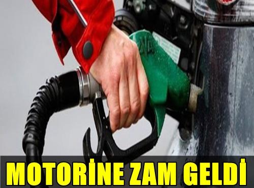 MOTORİNE ZAM! İŞTE MOTORİNİN LİTRE FİYATINA YAPILAN YENİ ZAM!..