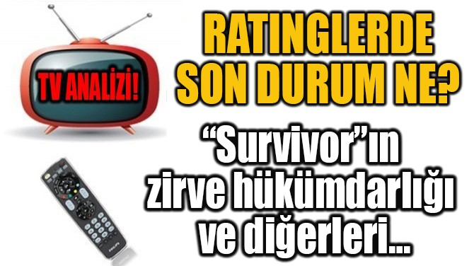 RATINGLERDE SON DURUM NE?