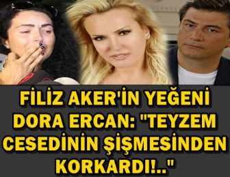 """DORA ERCAN: """"O GÜN BENİM GÖREVİM CESETLERE SAHİP ÇIKMAKMIŞ!.."""""""
