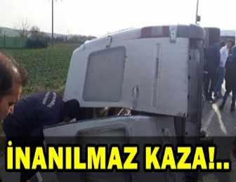 ARNAVUTKÖY'DE ÖĞRENCİ SERVİSİ KAZA YAPTI!..