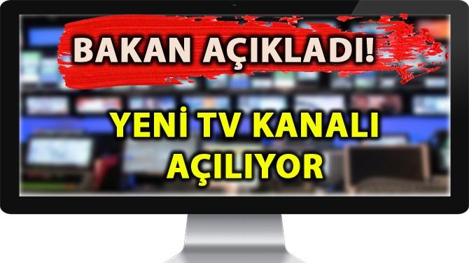 YENİ BİR TV KANALI AÇILIYOR!
