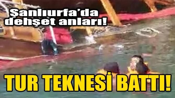 TUR TEKNESİ BATTI!