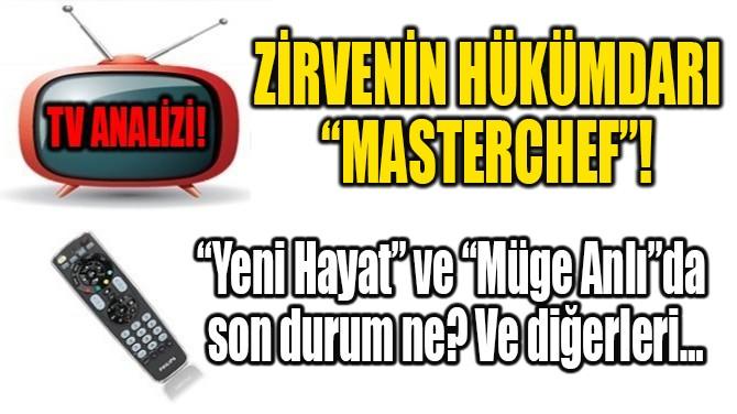"ZİRVENİN HÜKÜMDARI ""MASTERCHEF""!"