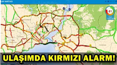 ŞİDDETLİ YAĞIŞ, İSTANBUL'U ESİR ALDI!