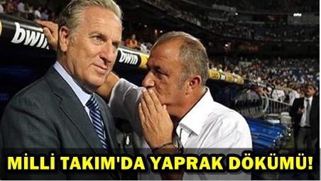 FATİH TERİM'İN ARDINDAN DÖRT İSTİFA DAHA!