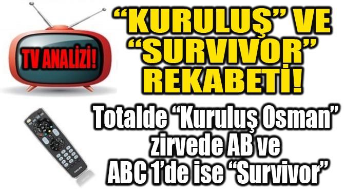 """""""KURULUŞ"""" – """"SURVIVOR"""" REKABETİ!"""