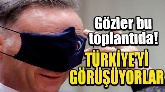 TÜRKİYE'Yİ GÖRÜŞÜYORLAR