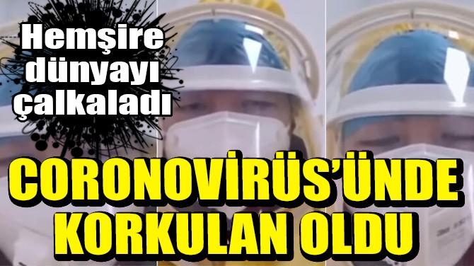 CORONAVİRÜS'ÜNDE KORKULAN OLDU