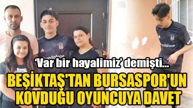 BEŞİKTAŞ'TAN BURSASPOR'UN  KOVDUĞU OYUNCUYA DAVET