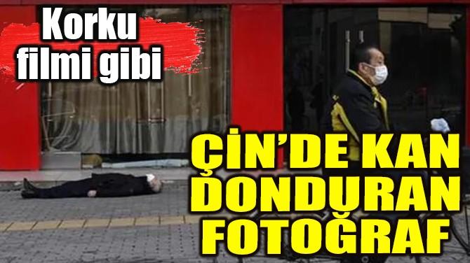 ÇİN'DE KAN DONDURAN FOTOĞRAF