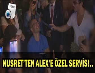 ALEX DE SOUZA'NIN İSTANBUL'DA KEYFİ YERİNDE!..