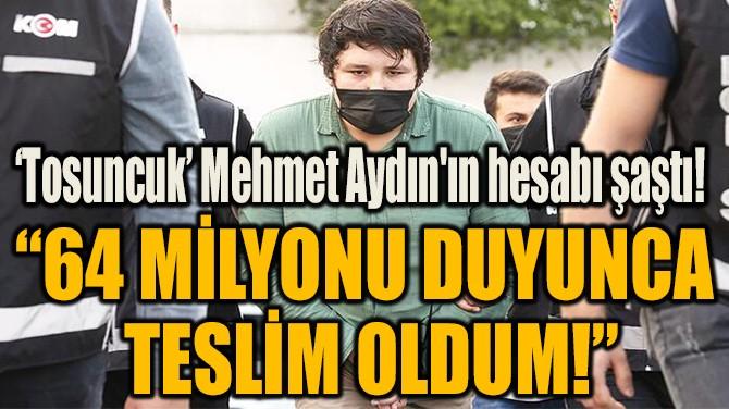 """64 MİLYONU DUYUNCA  TESLİM OLDUM!"""