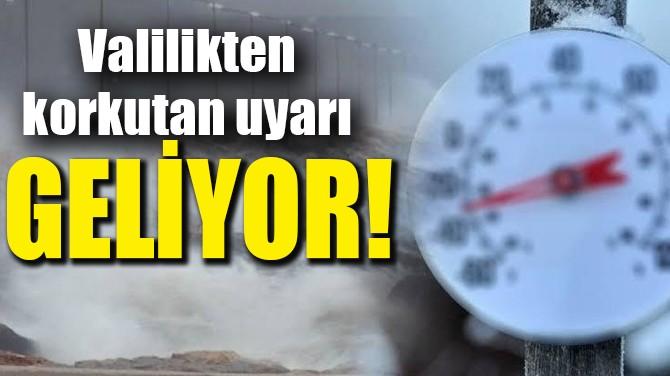 İSTANBUL'A FIRTINA GELİYOR