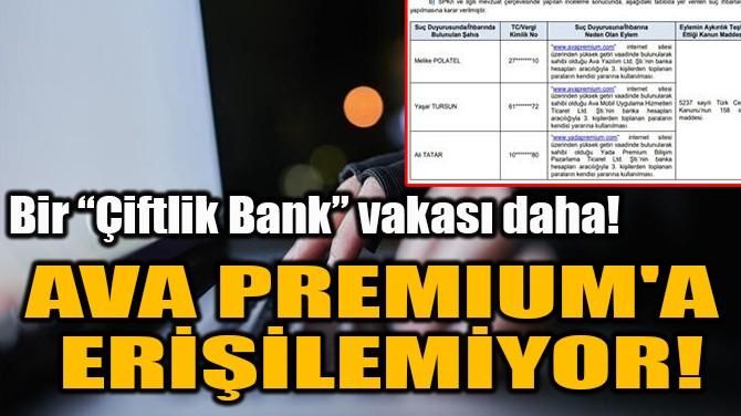 """BİR """"ÇİFTLİK BANK"""" VAKASI DAHA!"""
