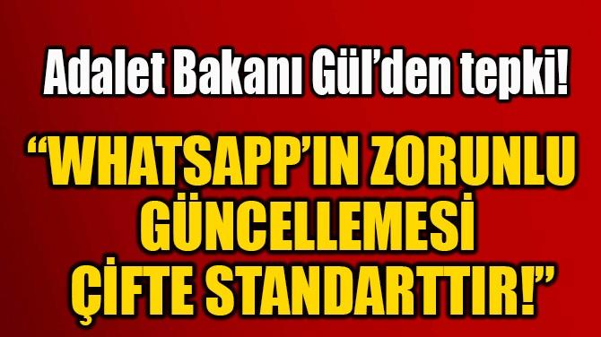 """""""WHATSAPP'IN ZORUNLU  GÜNCELLEMESİ  ÇİFTE STANDARTTIR!"""""""