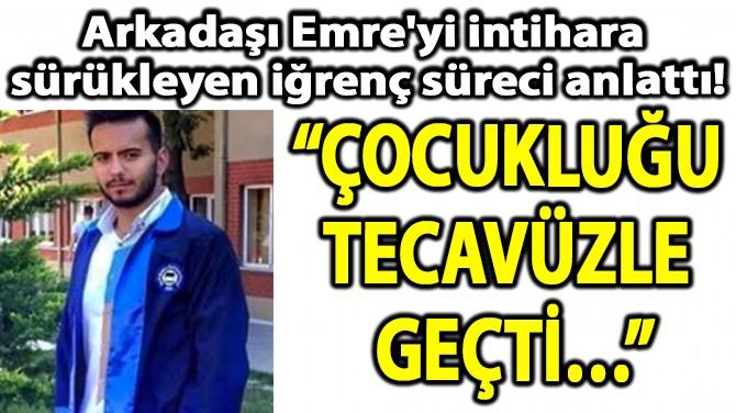 """""""ÇOCUKLUĞU  TECAVÜZLE  GEÇTİ…"""""""
