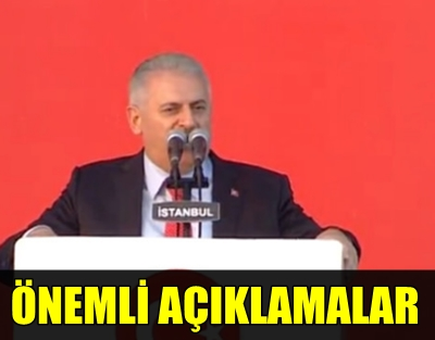 """BAŞBAKAN YILDIRIM """"DEMOKRASİ VE ŞEHİTLER MİTİNGİ""""NDE KONUŞTU: """"FETÖ LİDERİ TÜRKİYE'YE GELECEK, HESABINI VERECEK!.."""""""