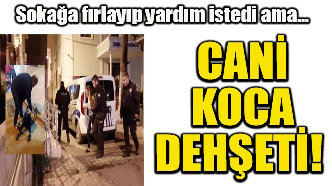 CANİ KOCA DEHŞETİ!