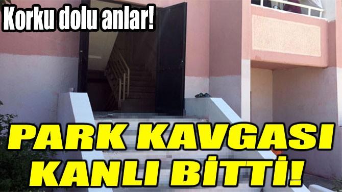 PARK KAVGASI KANLI BİTTİ!