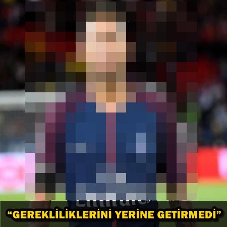 YILDIZ FUTBOLCU MAHKEMELİK OLDU!..