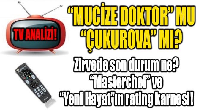 """MUCİZE DOKTOR"" MU ""ÇUKUROVA"" MI?"