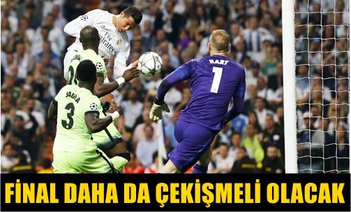 UEFA ŞAMPİYONLAR LİGİ YARI FİNAL RÖVANŞ MAÇINDA REAL MADRID, MANCHESTER CITY'Yİ YENEREK FİNALE YÜKSELDİ!..