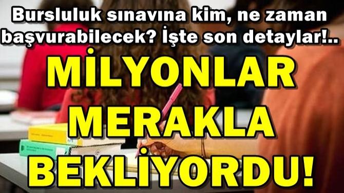 MİLYONLARI İLGİLENDİREN HABER GELDİ!