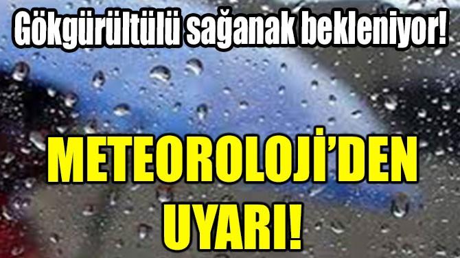 METEOROLOJİ'DEN KUVVETLİ YAĞIŞ VE DOLU UYARISI!