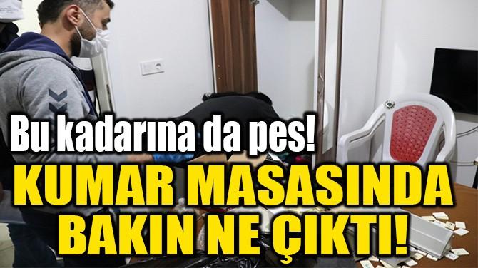 KUMAR MASASINDA  BAKIN NE ÇIKTI!