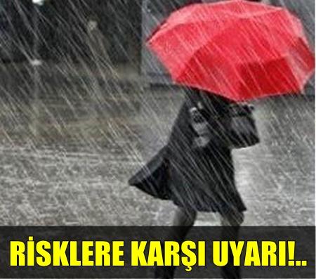 """METEOROLOJİ UYARDI!.. """"4 İL İÇİN KUVVETLİ YAĞIŞ BEKLENİYOR!"""".."""