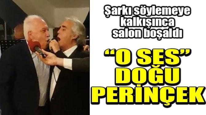 """""""O SES"""" DOĞU PERİNÇEK"""