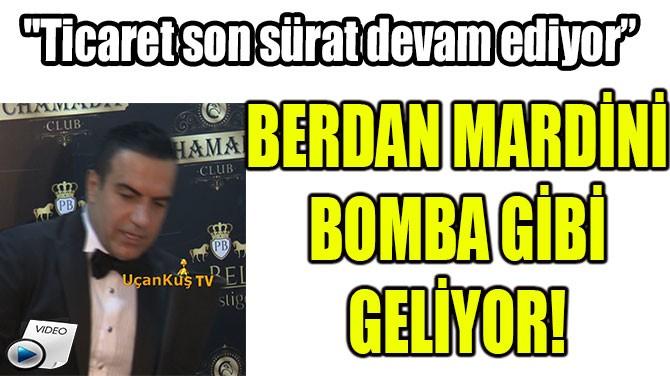 BERDAN MARDİNİ BOMBA GİBİ GELİYOR!