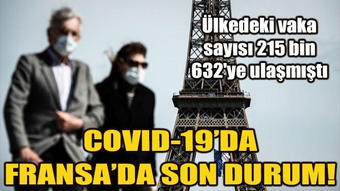 FRANSA'DA SON 24 SAATTE 96 KİŞİ YAŞAMINI YİTİRDİ