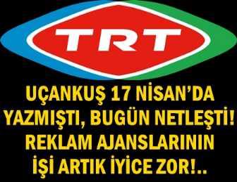 UÇANKUŞ NE DİYORSA O! TRT 24 MAYIS'TA RATINGLERDEN ÇIKIYOR!
