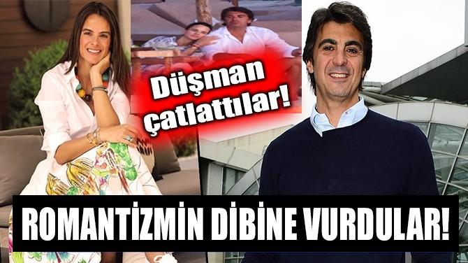 İBRAHİM KUTLUAY VE EDVINA SPONZA ROMANTİZMİN DİBİNE VURDU!