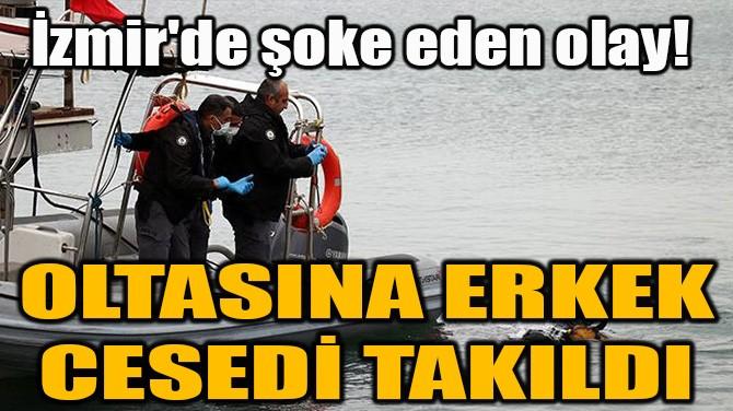 BALIK TUTMAYA GİTTİ, OLTASINA ERKEK CESEDİ TAKILDI