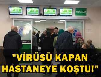 İSTANBUL'DA HASTANELERİN ACİL SERVİSLERİ DOLUP TAŞTI!..