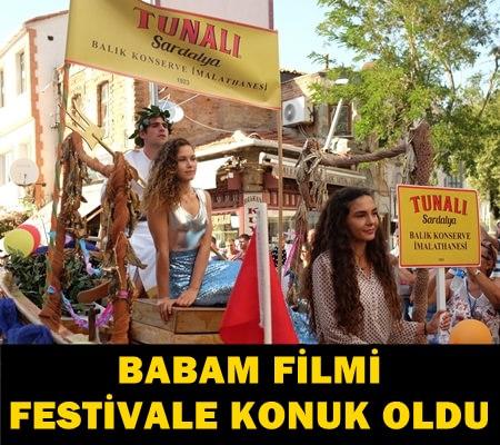 'BABAM' FİLMİ SARDALYA FESTİVALİYLE RENKLENDİ