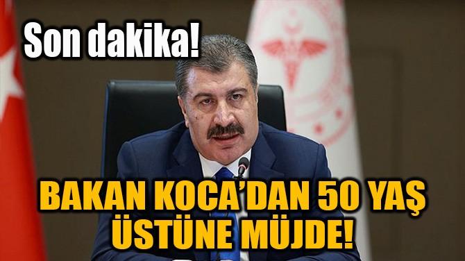 SAĞLIK BAKANI FAHRETTİN KOCA'DAN AŞI AÇIKLAMASI!